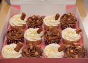 99 & Chocolate Fudge Cupcakes