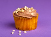 Banana Chocolate Cupcake